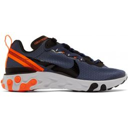Navy React Element 55 SE Sneakers