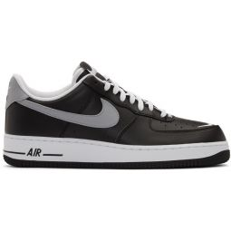 Black & White Air Force 1 07 LV8 4 Sneakers