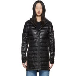 Black Down Hybridge Lite Coat
