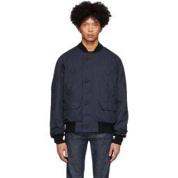 Navy Faber Jacket