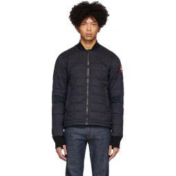 Black Down Dunham Jacket
