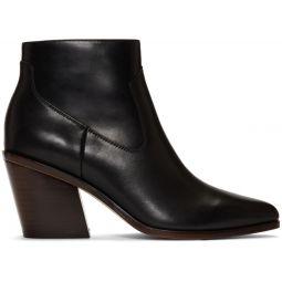 Black Razor Boots