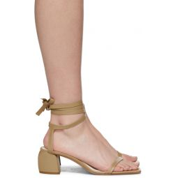Beige Leather Shyah Sandals