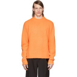 SSENSE Exclusive Orange Alpaca Cozette Sweater