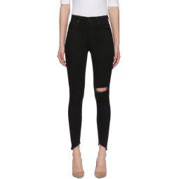 Black Mile High Super Skinny Jeans