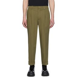 Green Pierre Trousers