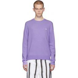 Purple Nalon Face Sweater