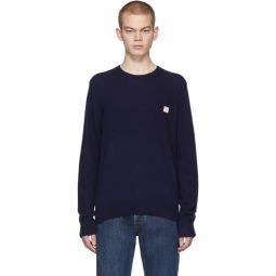 Navy Kalon Face Sweater