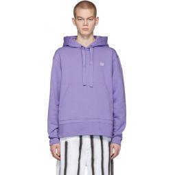 Purple Ferris Face Hoodie