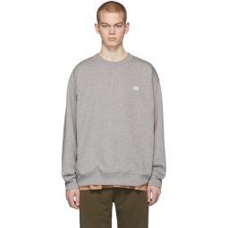 Grey Melange Forba Face Sweatshirt