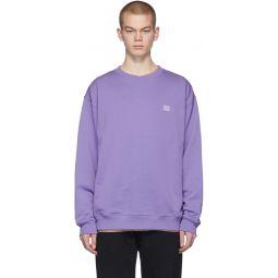 Purple Forba Face Sweatshirt