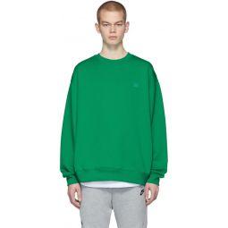 Green Forba Face Sweatshirt