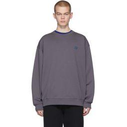 Grey Forba Face Sweatshirt