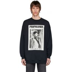 Black Propaganda Magazine Edition Sweatshirt