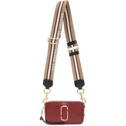 Red & Burgundy Small Snapshot Camera Bag