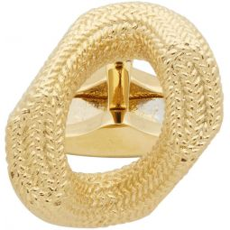 Gold Chain Link Cufflinks