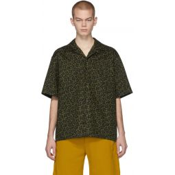 Green & Black Camo Cells Shirt