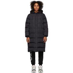 Black Down Puffer Coat