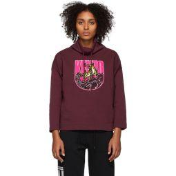 Burgundy Logo Tiger Mountain Sweatshirt