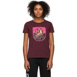 Burgundy Logo Tiger Mountain T-Shirt