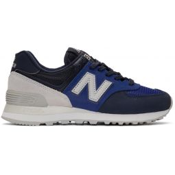 Blue & Navy 574 Core Sneakers