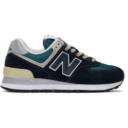 Navy 574 Sneakers