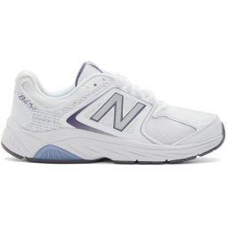 White 847WT3 Sneakers