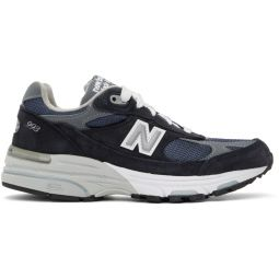 Navy & Grey US Made 993 Sneakers