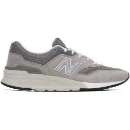 Grey & Silver 997H Sneakers