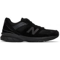 Black Made In US 990v5 Sneakers