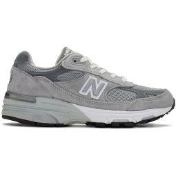 Grey 993 Sneakers