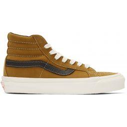 Brown Nubuck OG Sk8-Hi LX Sneakers