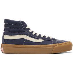 Blue Nubuck OG Sk8-Hi LX Sneakers