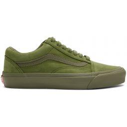 Green Nubuck Old Skool LX Sneakers