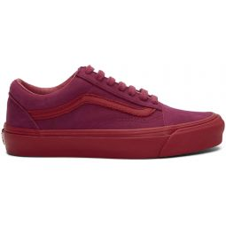 Pink Nubuck Old Skool LX Sneakers