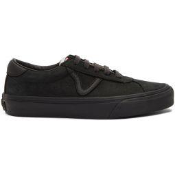 Black Nubuck Epoch Sport LX Sneakers