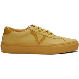 Yellow Nubuck Epoch Sport LX Sneakers