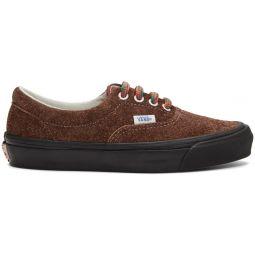 Brown Hairy Suede OG Era LX Sneakers