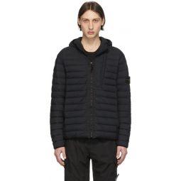 Black Down Loom Woven Jacket