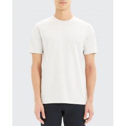 Mens Incisive Clean Silk-Blend T-Shirt