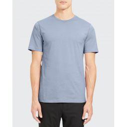 Mens Precise Luxe Cotton Crewneck T-Shirt