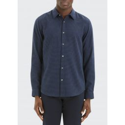 Mens Irving Beacon Textured Sport Shirt