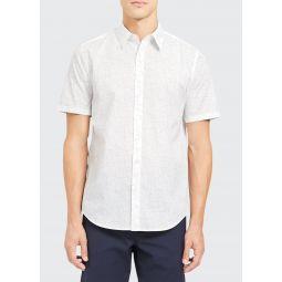 Mens Irving Sustina Patterned Sport Shirt