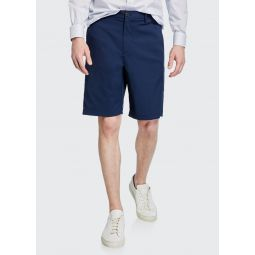 Mens Zaine SW Neoteric Slim-Fit Shorts