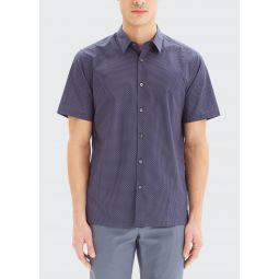 Mens Irving Sillar Short-Sleeve Sport Shirt