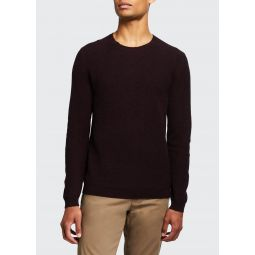 Mens Medin Solid Cashmere Crewneck Sweater