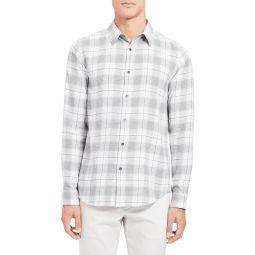 Mens Irving Flannel Cotton Sport Shirt