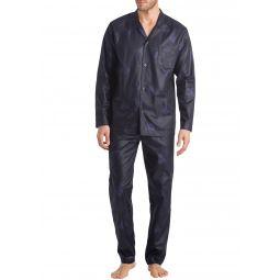 Mens Select Damask-Pattern Pajama Set
