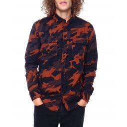 newski camo buttonfront ls shirt