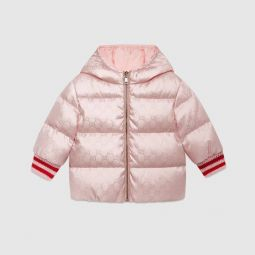 Baby reversible GG jacquard jacket